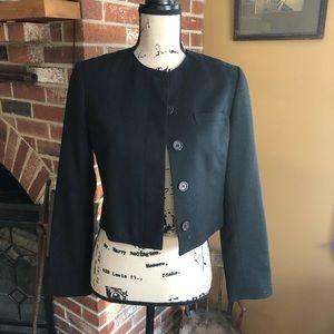 Pendleton cropped 100% wool blazer